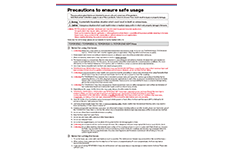 User's Manual l ·  Precautions for use